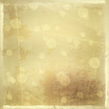 Gold backdrop for greetings or invitations Royalty Free Stock Image