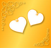 Gold background Stock Images