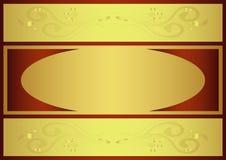 Gold background vector illustration