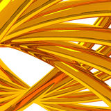 Gold background 3d royalty free illustration
