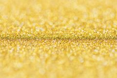 Gold background, abstract Christmas glitter bokeh blank for design stock photos