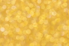 Gold background, abstract Christmas glitter bokeh blank for design royalty free stock photography