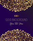 Gold Background. Abstract Gold Background. 10 EPS Stock Photos