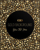Gold Background. Abstract Gold Background. 10 EPS Royalty Free Stock Photo