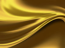 Gold background. Abstract gold background with smooth lines royalty free illustration
