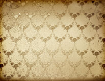 Gold background with ancient floral ornament Royalty Free Stock Photo