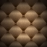 Gold background - chester pattern - packaging Royalty Free Stock Photo