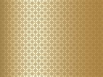 Gold Background with Geometrical Pattern Stock Photos