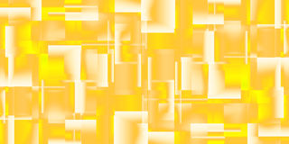 Gold background of glossy squares Royalty Free Stock Image