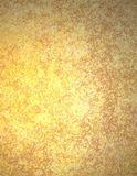 Gold Background Paper or Parchment Royalty Free Stock Images
