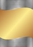 Gold background. Gold and silver background with texture Stock Photo