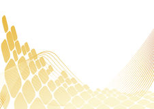 Gold background from square Stock Photo