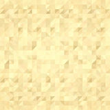 Gold background, squares pattern. Vector, EPS 10 Stock Photo