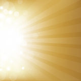 Gold Background With Star Stock Images
