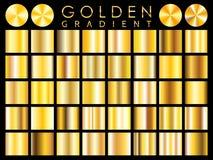 Gold background texture vector icon seamless pattern. Light, realistic, elegant, shiny, metallic and golden gradient illustration. stock illustration