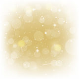 Gold background for valentines vector illustration Royalty Free Stock Images