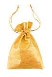 Gold bag Royalty Free Stock Photo