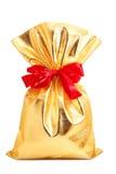 Gold bag Stock Image