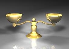 Gold balance Stock Images