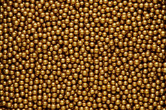 Gold balls background Stock Image