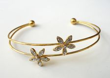 Gold Bangle II Royalty Free Stock Images