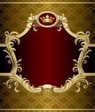 Gold banner stock illustration