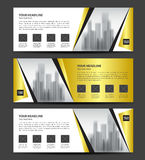 Gold Banner template vector, Horizontal header, advertising. Red Banner template vector, Horizontal header, advertising, business flyer design Stock Photo