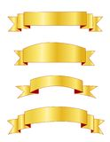 Gold banners / banner Stock Photo