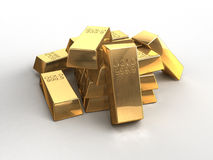 Gold bar Royalty Free Stock Images