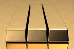 Gold Bar Royalty Free Stock Image