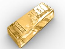 Gold bar. Stock Image