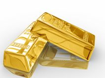 Gold bar. Stock Photography