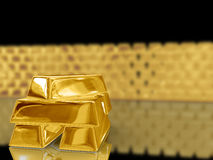 Gold bar. Stock Photography