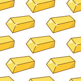 Gold Bar Golden Bars Seamless Pattern Royalty Free Stock Photos