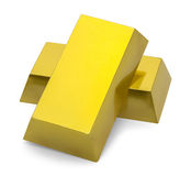 Gold Bar Stack Royalty Free Stock Photography