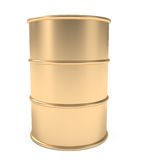 Gold Barrel Stock Images