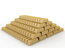 Gold bars �2 Stock Image