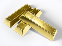 Gold bars Royalty Free Stock Photo
