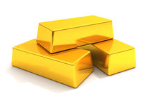 Gold bars Royalty Free Stock Photography