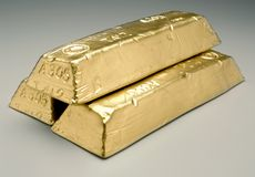 Free Gold Bars Stock Photography - 22904482