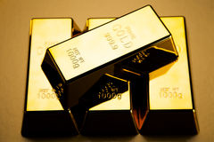 Gold bars! Royalty Free Stock Photography