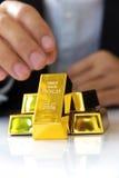 Gold bars Royalty Free Stock Image