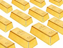 Gold bars Stock Photo