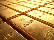 Free Gold Bars Stock Photos - 46204233