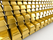 Gold Bars Royalty Free Stock Photos