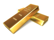 Gold bars stock illustration