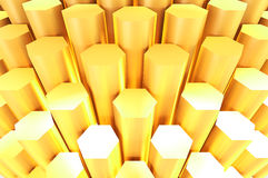 Gold bars abtract for background Royalty Free Stock Photography