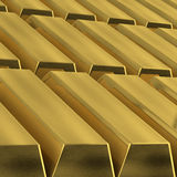 Gold Bars background stock images