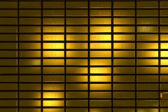 Gold bars block Three Dimension concept. Gold bars three dimension concept millionaire business Background royalty free stock photos