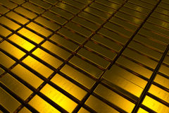 Gold bars block Three Dimension concept. Gold bars three dimension concept millionaire business Background royalty free stock image
